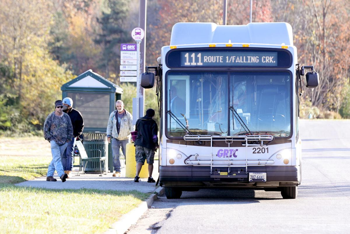 Chesterfield Route 111 buses