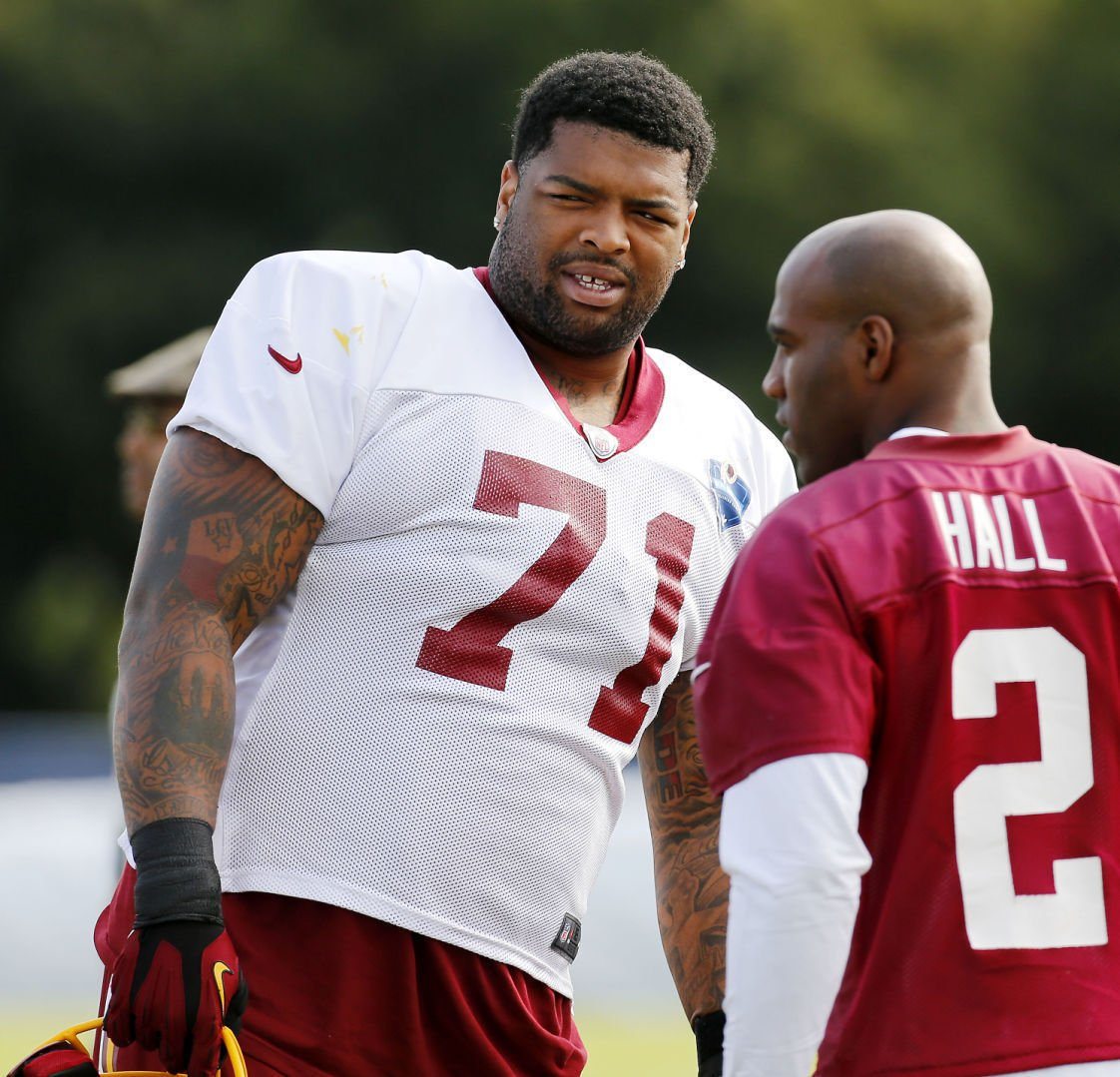 DeAngelo Hall Morgan Moses cleared to practice at Redskins camp