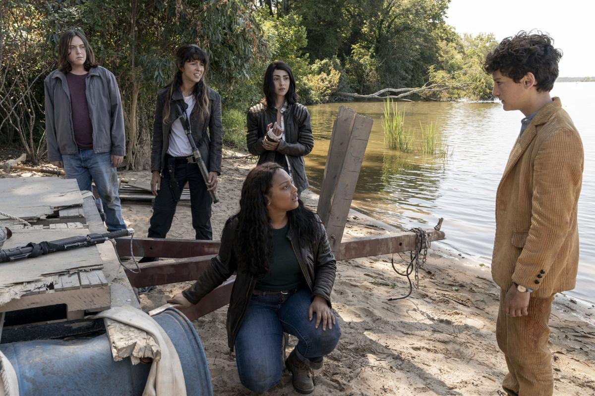 The Walking Dead World Beyond Where They Filmed In Virginia What They Ate And What It Was Like On Set At Hadad S Lake The Show Premieres Oct 4 Movies And Television