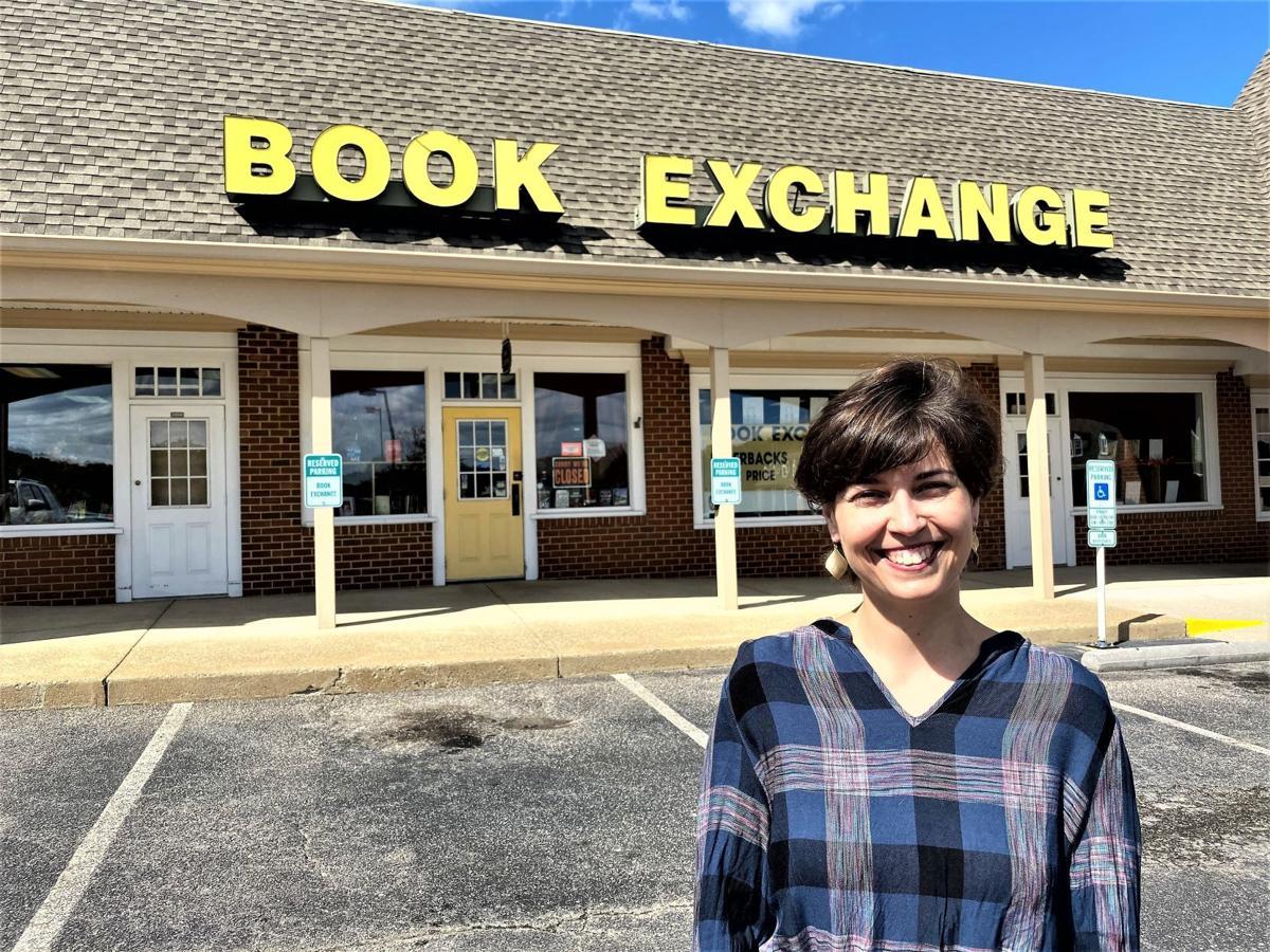 Caroline  Davidson is buying The Book Exchange of Midlothian