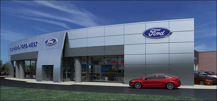 Richmond Ford Lincoln >> Richmond Ford West Being Remodeled Business Richmond Com