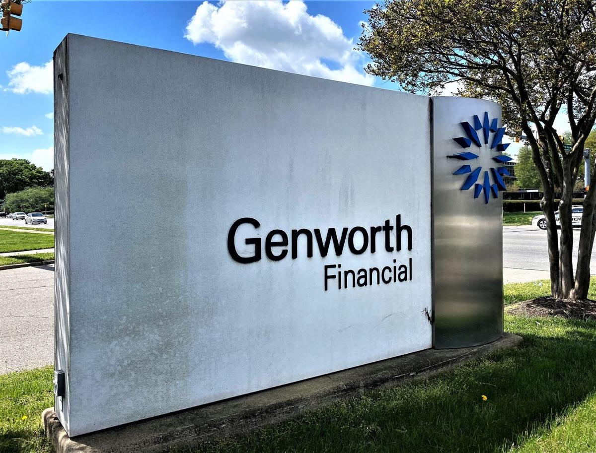Genworth Financial's corporate headquarters sign