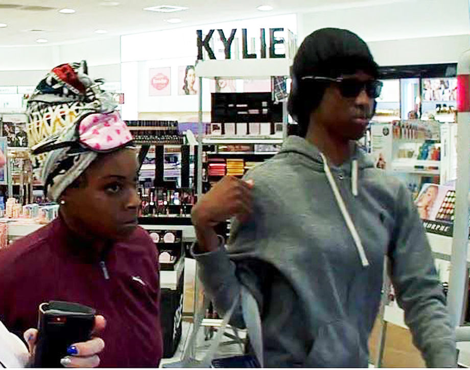 Security photo of suspects in Ulta Beauty mass shoplifting crime in Short Pump