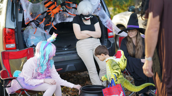 Things that went bump at Harvest Fest Trunk-o-Treats