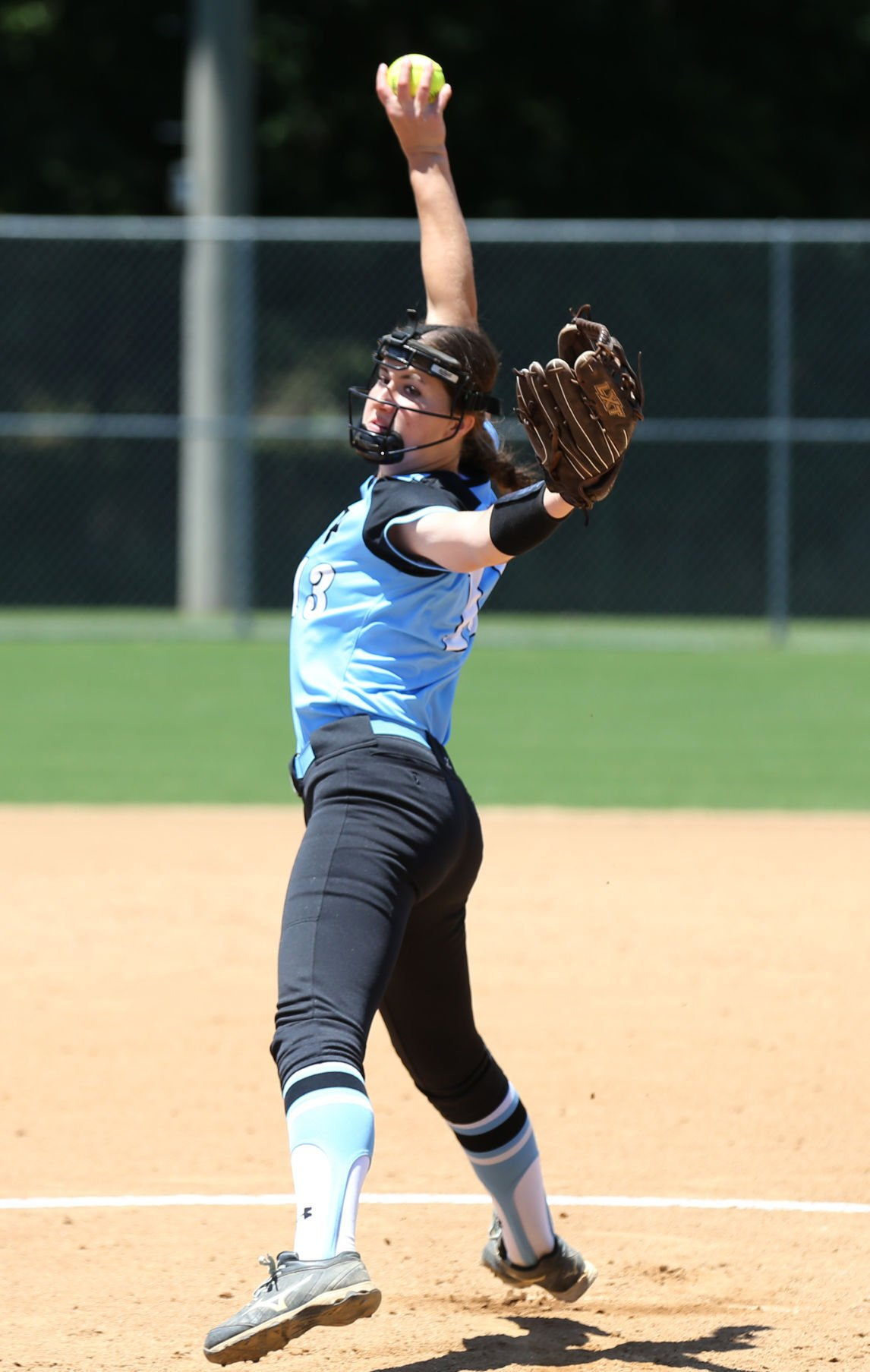 High school softball state games
