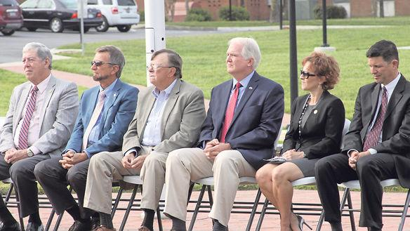 Hanover citizens stop to remember 9-11