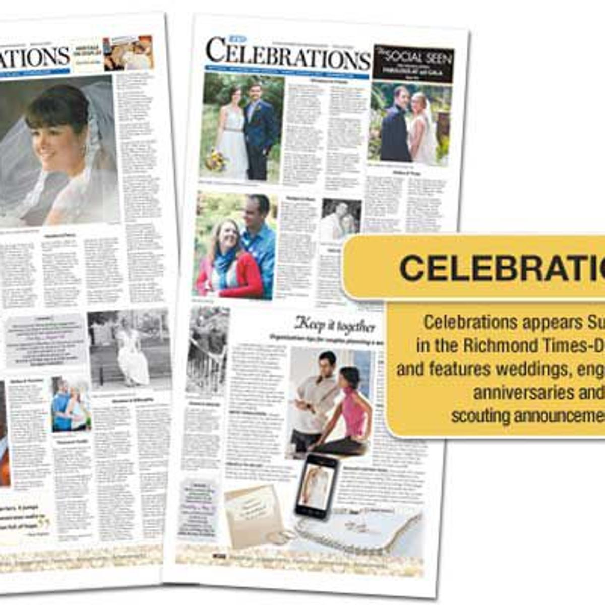 Wedding Announcements Newspaper.Submit A Wedding Announcement Rtd 101 Richmond Com