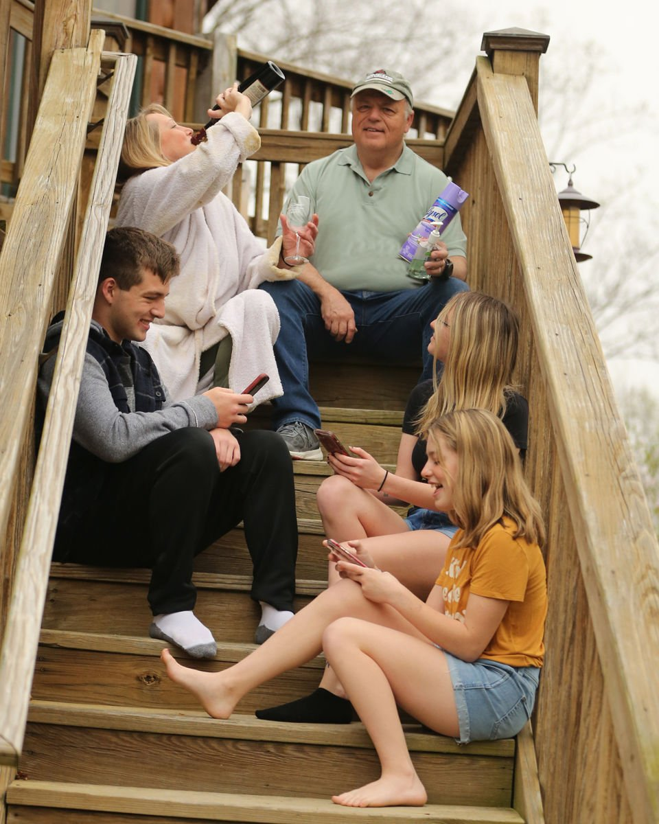 Porches of Powhatan feature series: Week 2 - Decker family