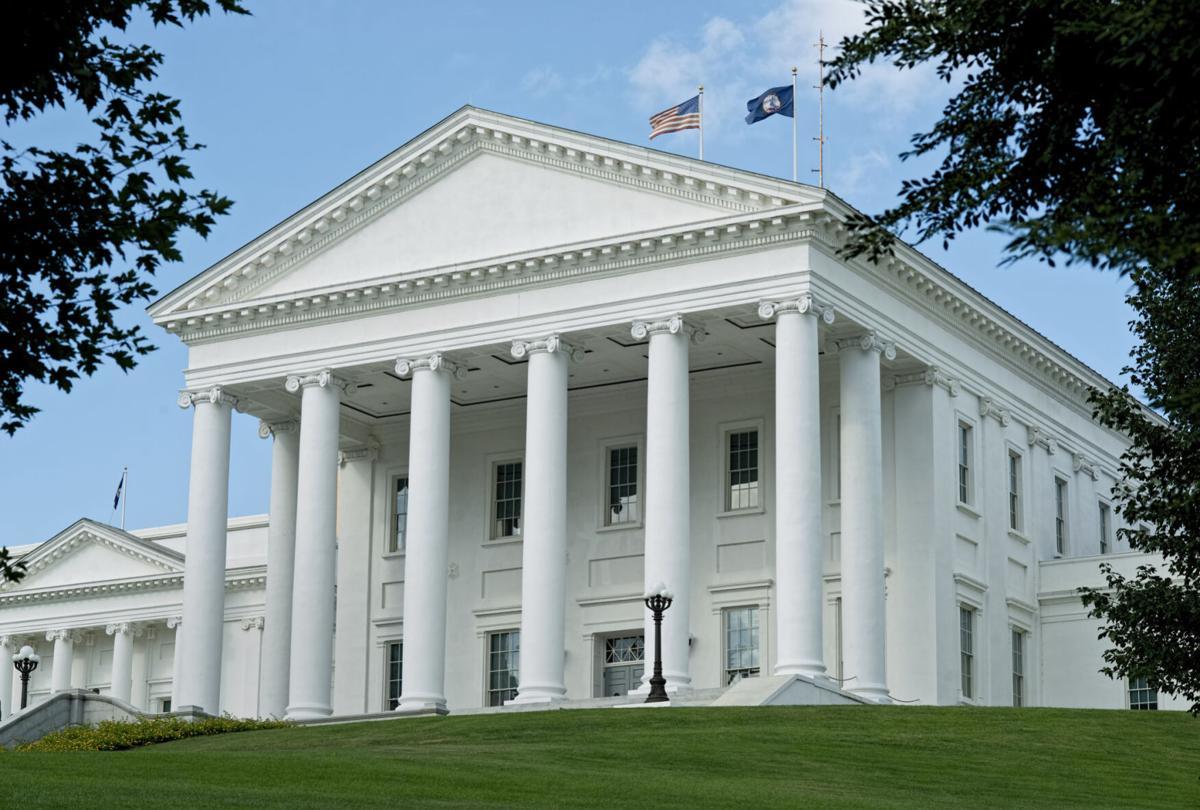 Virginia State Capitol Building.