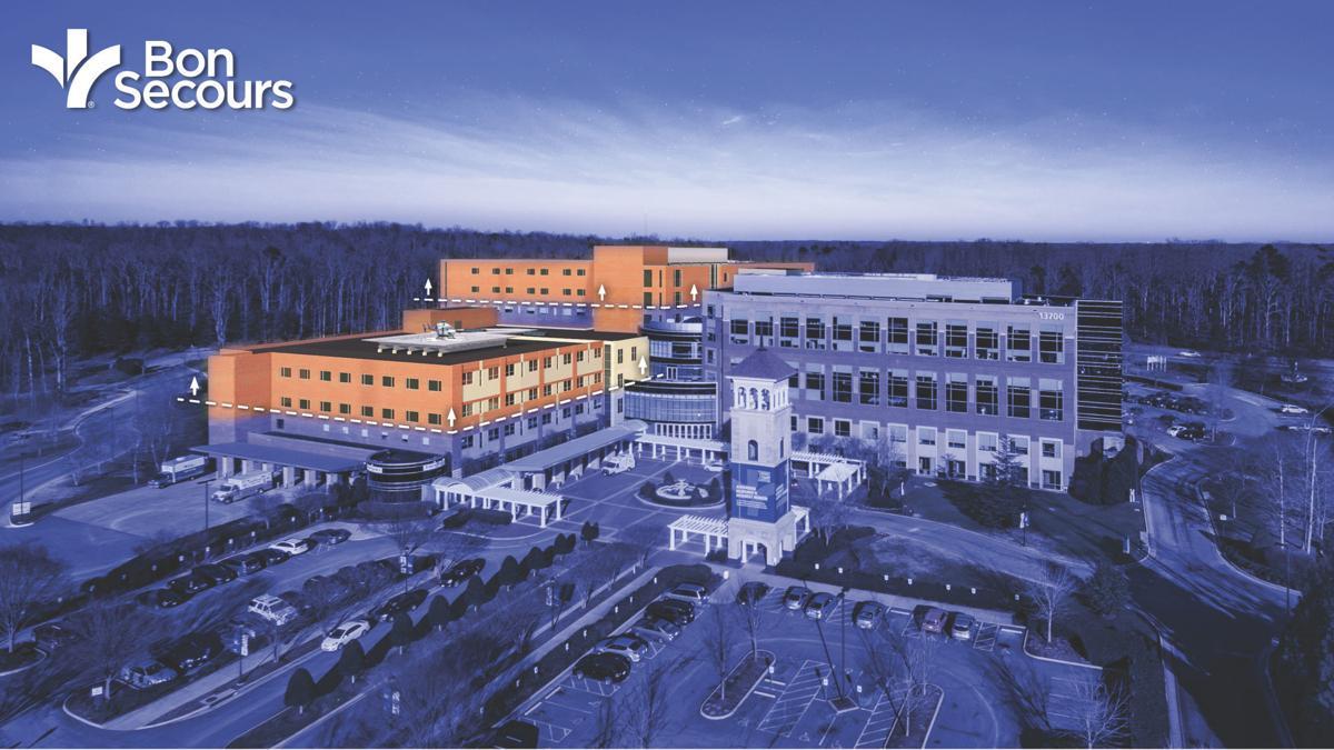 St Francis Medical Center >> Bon Secours St Francis Medical Center Files Plans For 119