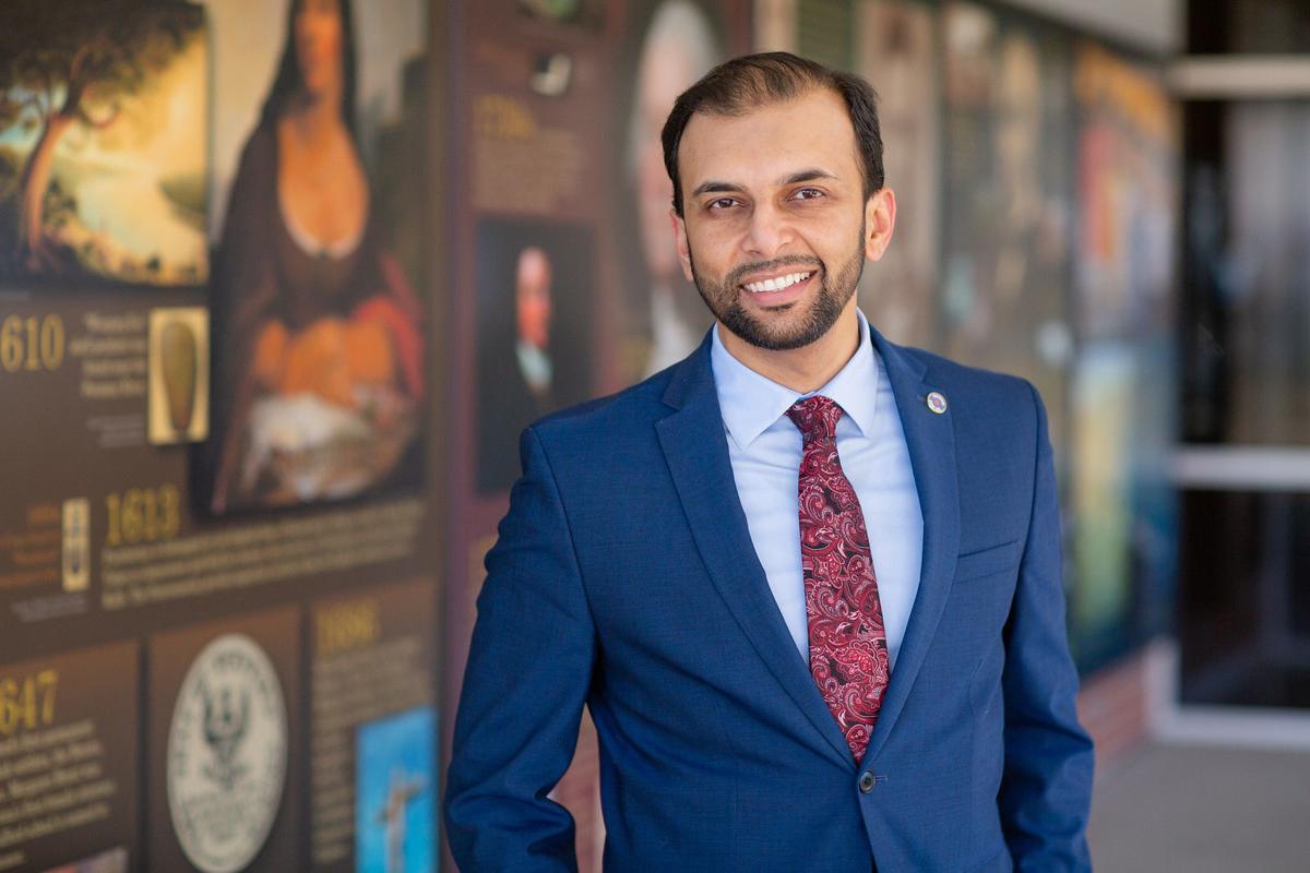Democratic Senate candidate Qasim Rashid