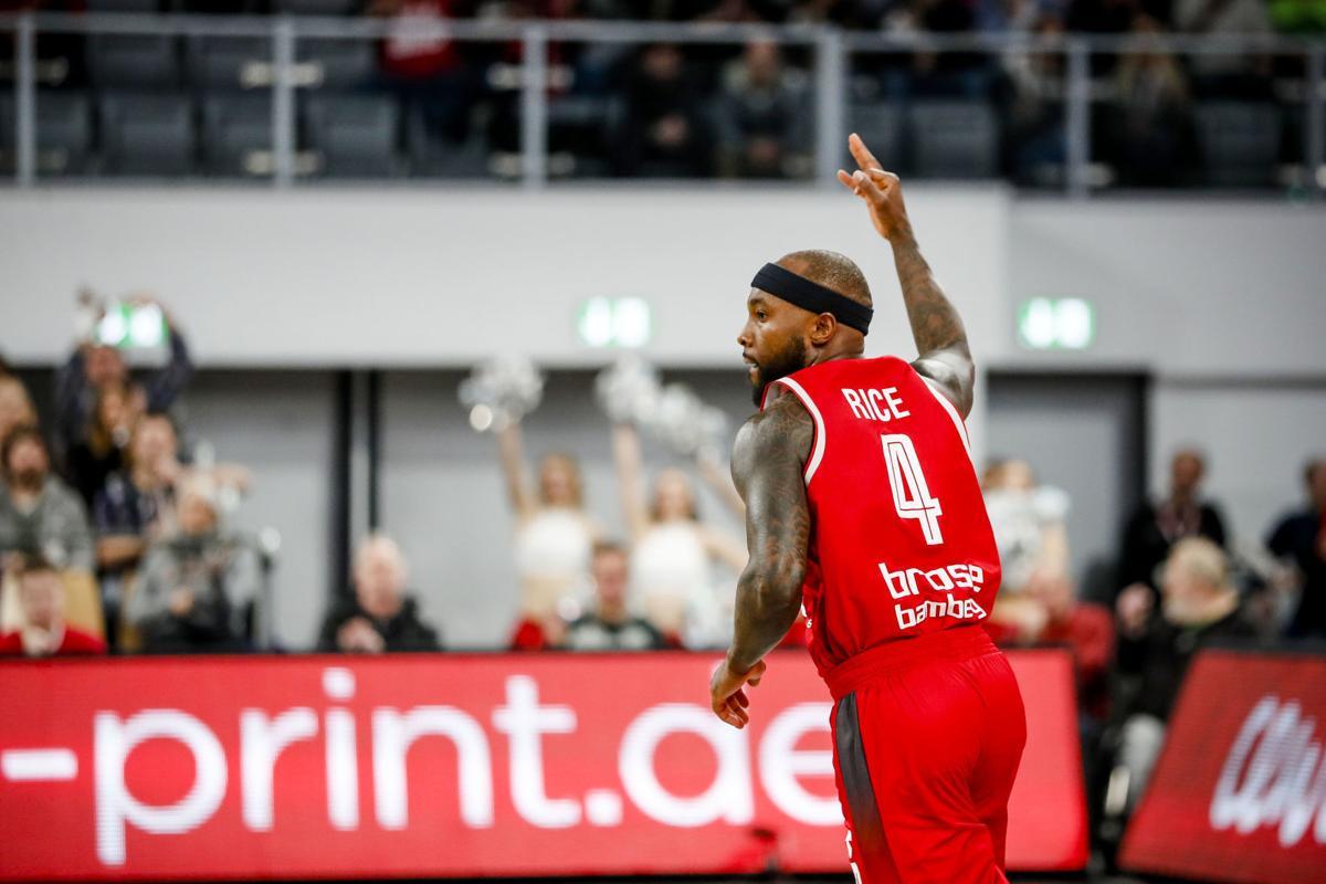 21. Spieltag Brose Bamberg - Fraport Skyliners Frankfurt