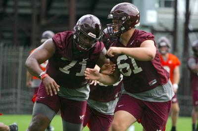 Virginia Tech fall camp first practice