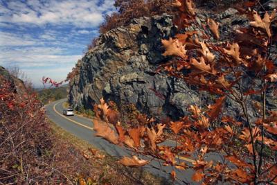 It's 'peak week' for fall foliage along the Blue Ridge Parkway
