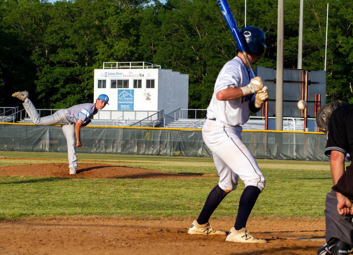 Hanover at Patrick Henry baseball: Hustead throws a strike
