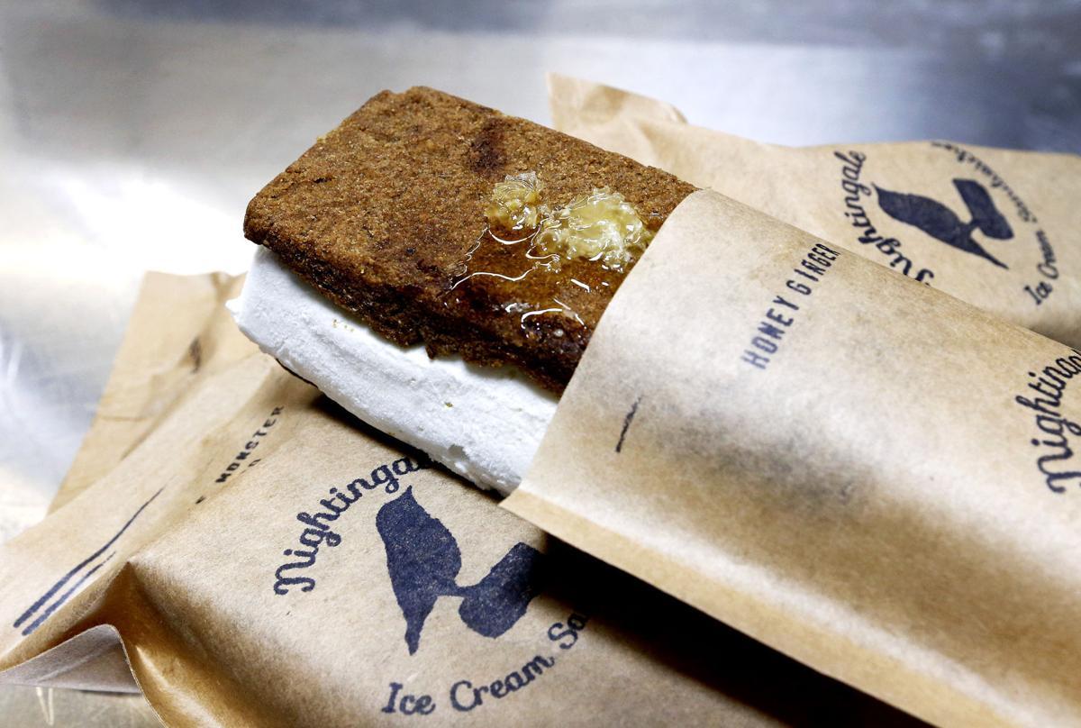 Nightingale Ice Cream Sandwiches