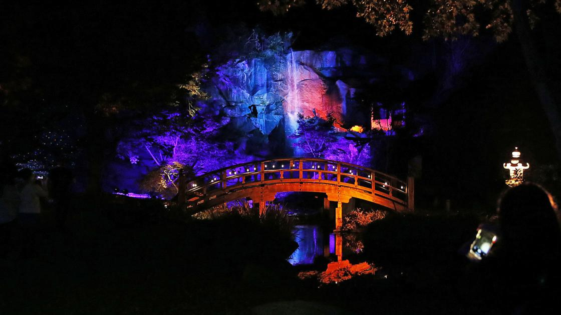 Photos Garden Glow At Maymont Richmond Events Richmond Com