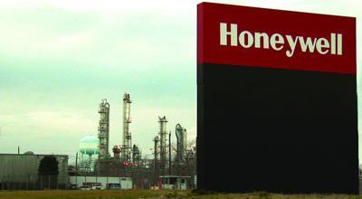 Honeywell plant in Hopewell