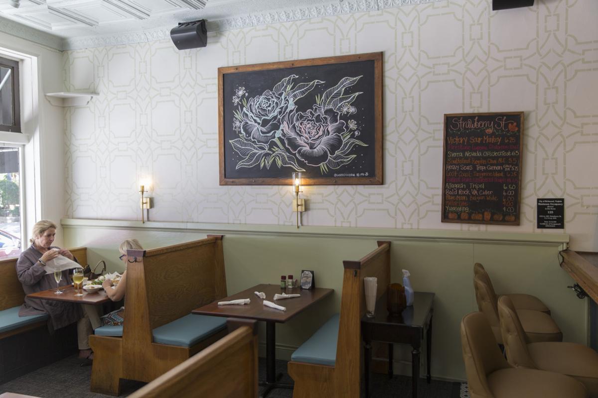 Strawberry Street Cafe Salad Bar