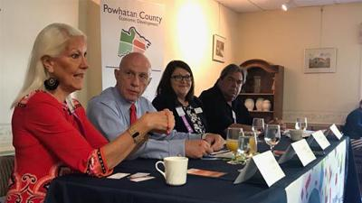 Business breakfast offers guidance to small businesses