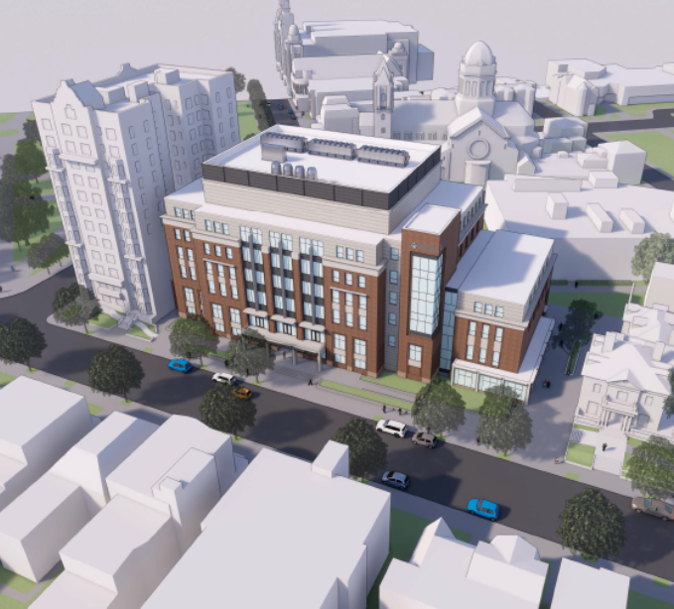 VCU STEM Building Rendering 1