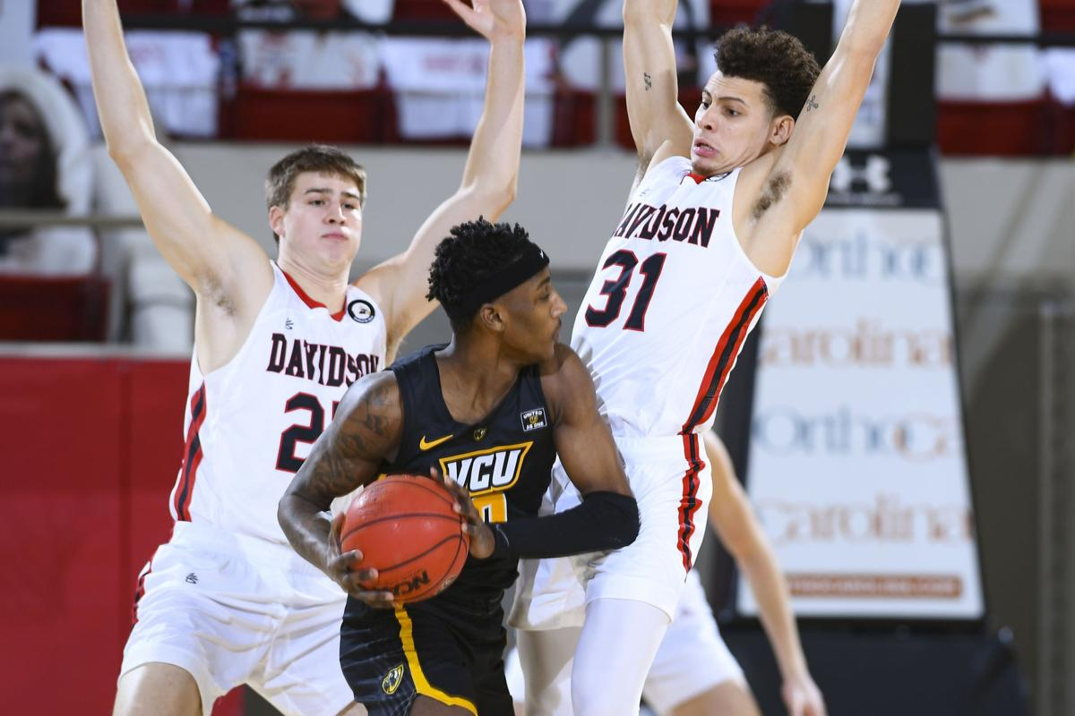 NCAA BASKETBALL  FEB 27 VCU at Davidson
