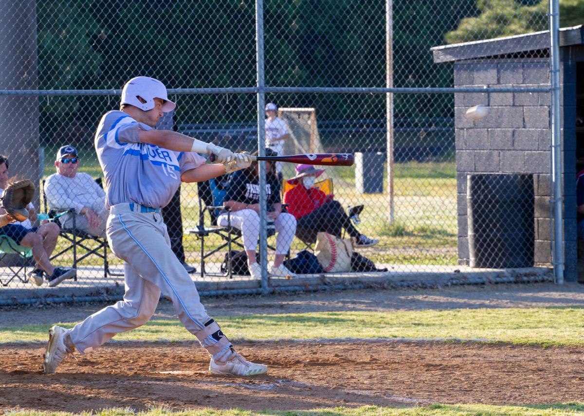 Hanover at Patrick Henry baseball: Alvis hits a double
