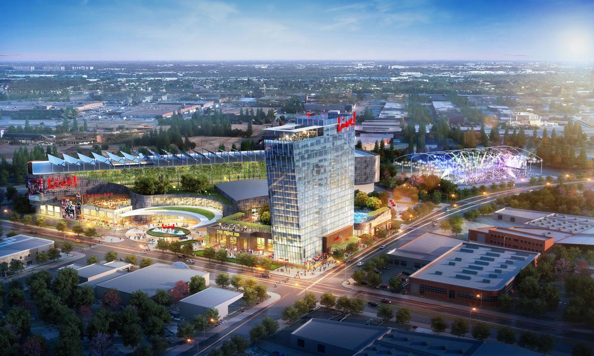Cordish casino development rendering