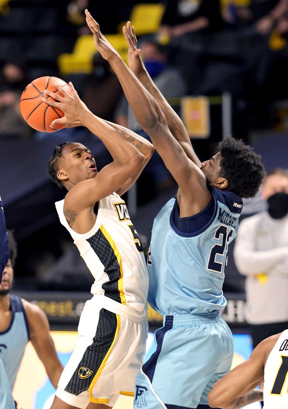 VCU men's basketball game vs. Rhode Island