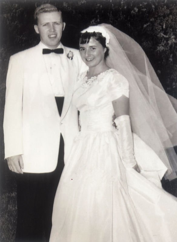 Ronald and Alma Kelly, formerly of Midlothian and Palmyra, Virginia, and now residing in Venice, Florida, celebrated their 61st wedding anniversary on July 6, 2019. They have two children and four grandchildren. A family celebration is planned in the Outer Banks of North Carolina.