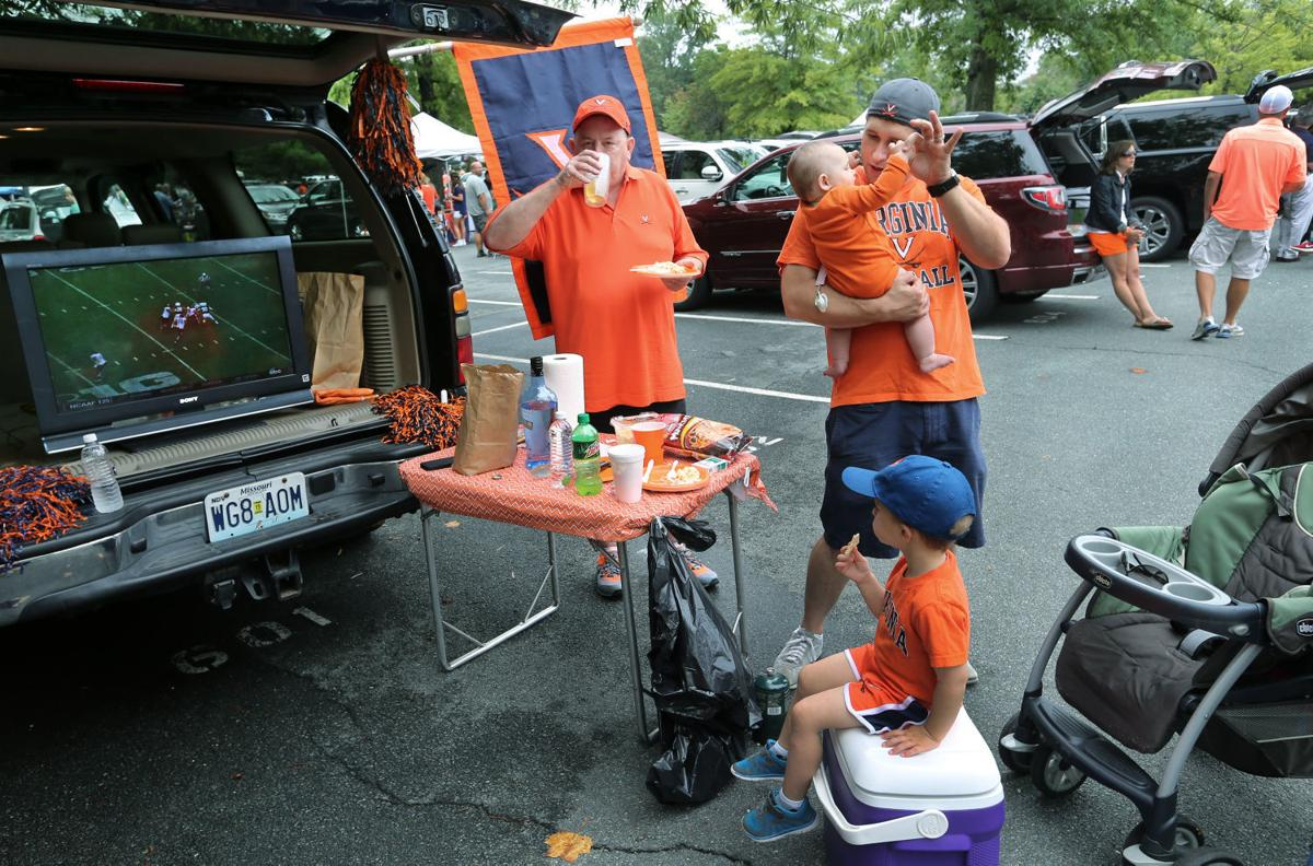Tailgating at UVa-Notre Dame game