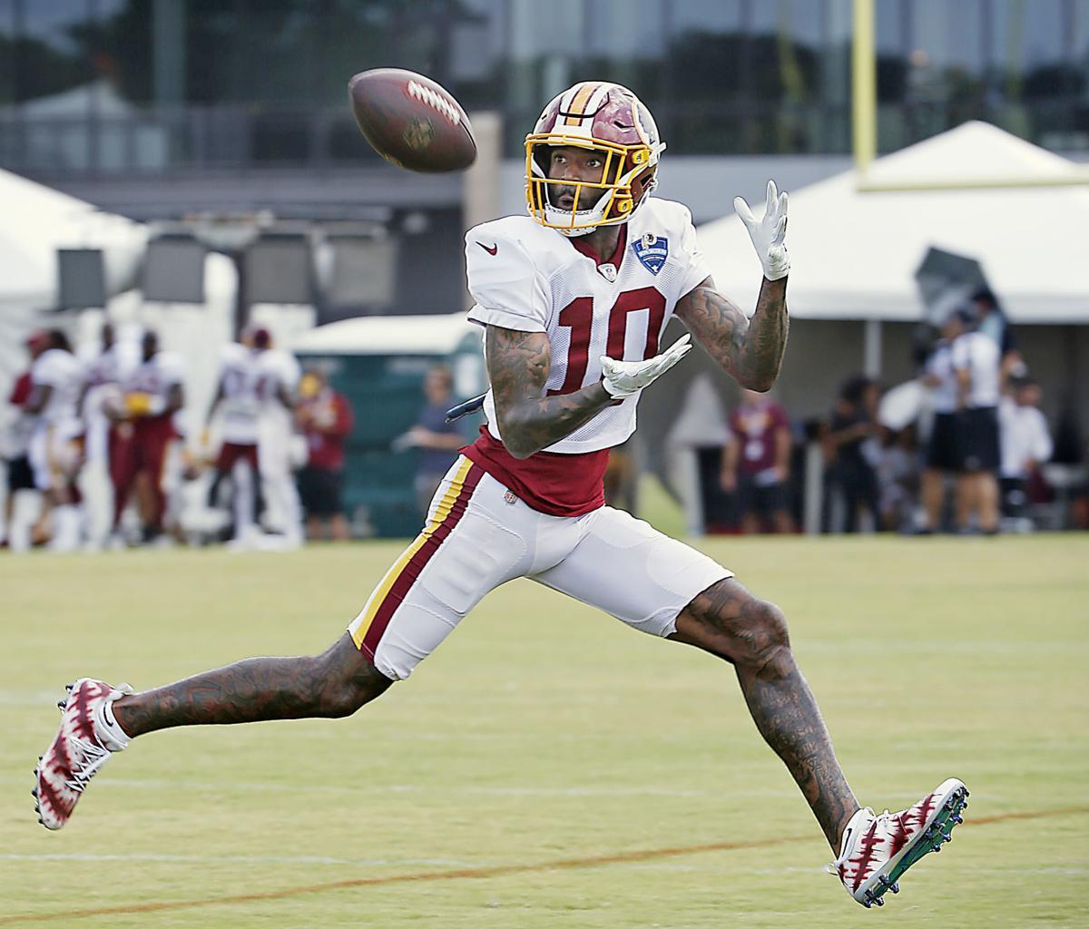 0c7dd716 Speedy Redskins receiver Paul Richardson Jr. toeing the line between ...