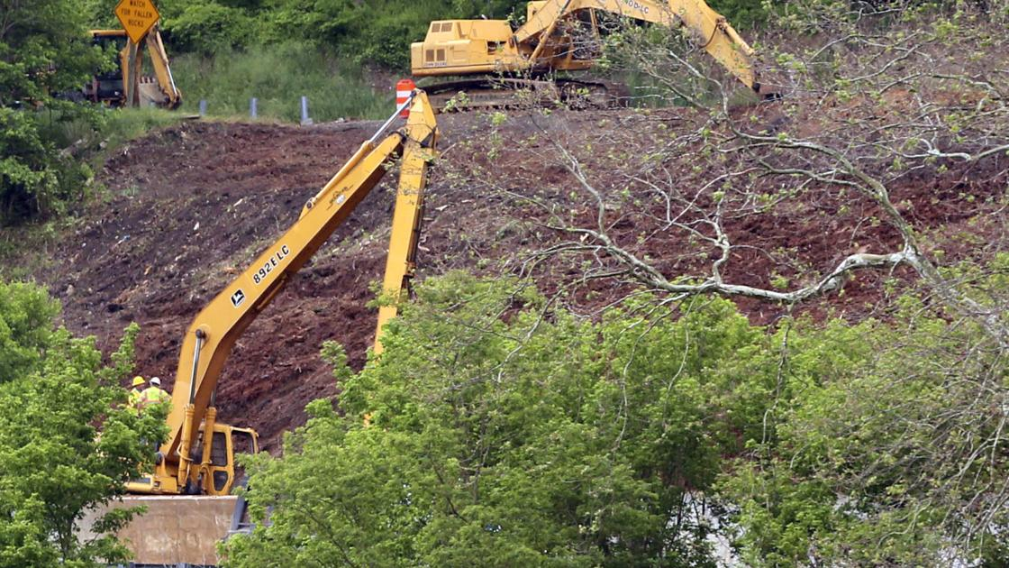 U.S. 460 remains closed after mudslide in Giles County: 'The roadway basically collapsed'