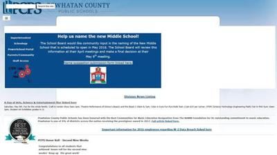Pared down school websites re-launched