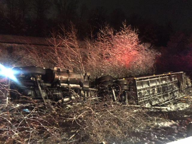 State police respond to 242 crashes in Richmond area including overturned tractor trailer
