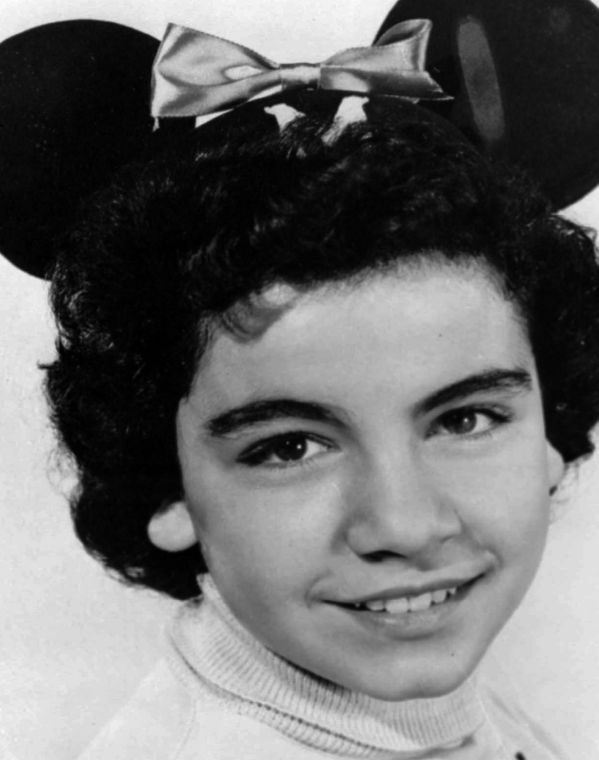 Annette Funicello Annette Funicello Disney Mickey Mouse Club Cheerleader Joined Bear,