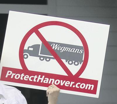 No Wegmans Sign