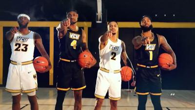 VCU 2019-20 uniforms