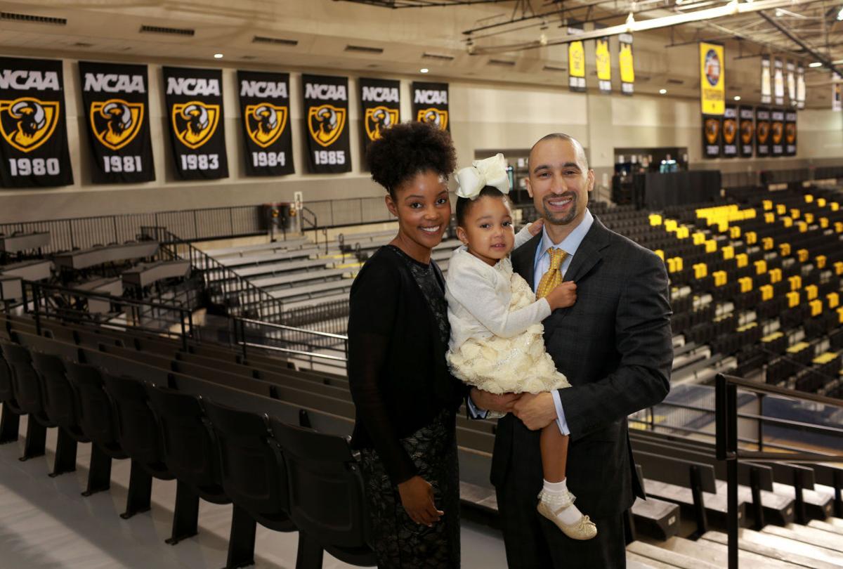Maya and Shaka Smart with their daughter