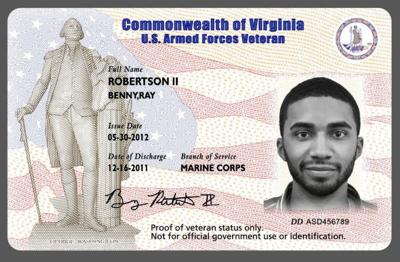 Unveils To Richmond com Id Discounts Entitles Card That Archive Vets Mcdonnell