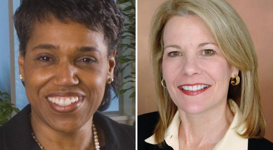 Sheryl Garland and Beth Merchent