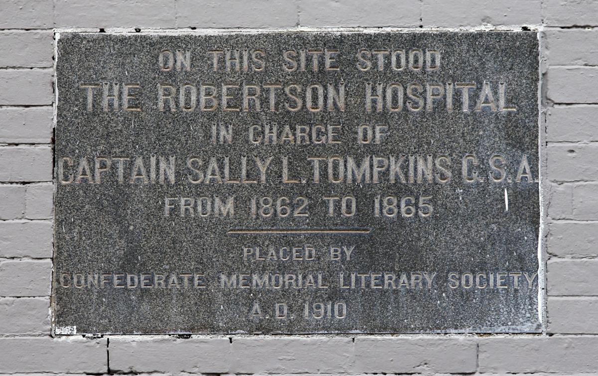 Tompkins plaque