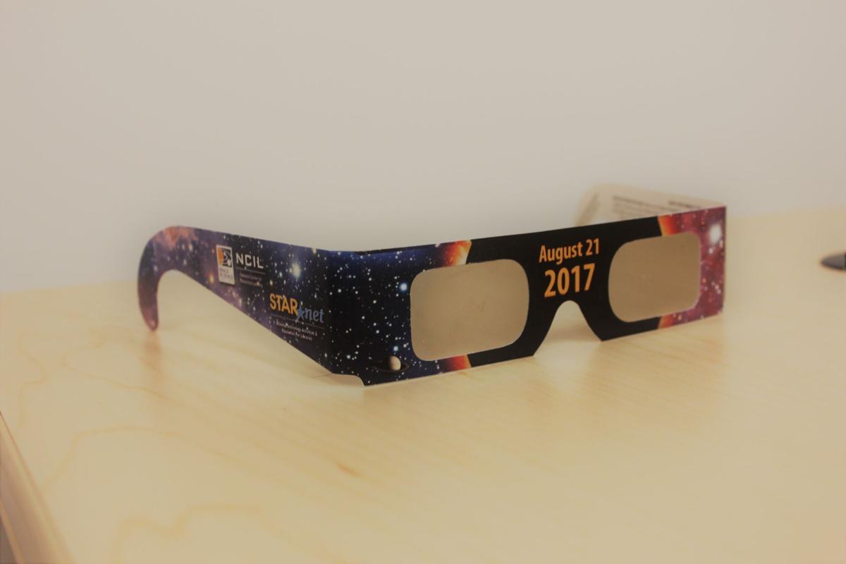 NASA eclipse glasses