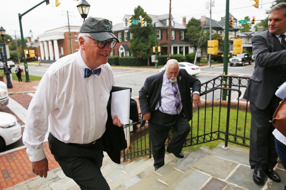 Charlottesville statues case