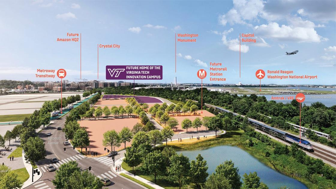 Virginia Tech announces new location for Northern Virginia Innovation Campus