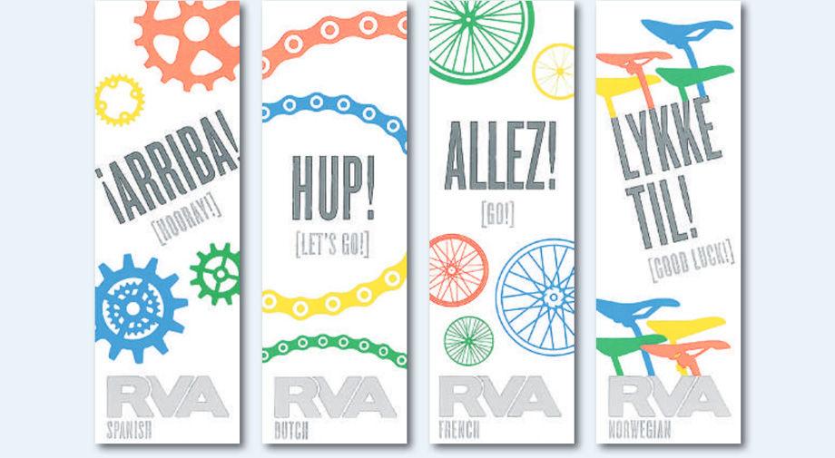 Bike banners