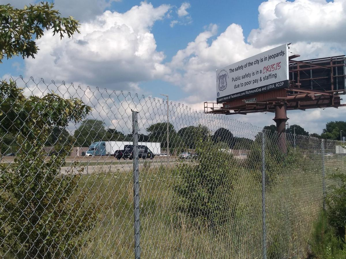 RCOP billboard seen from Robin Hood Road