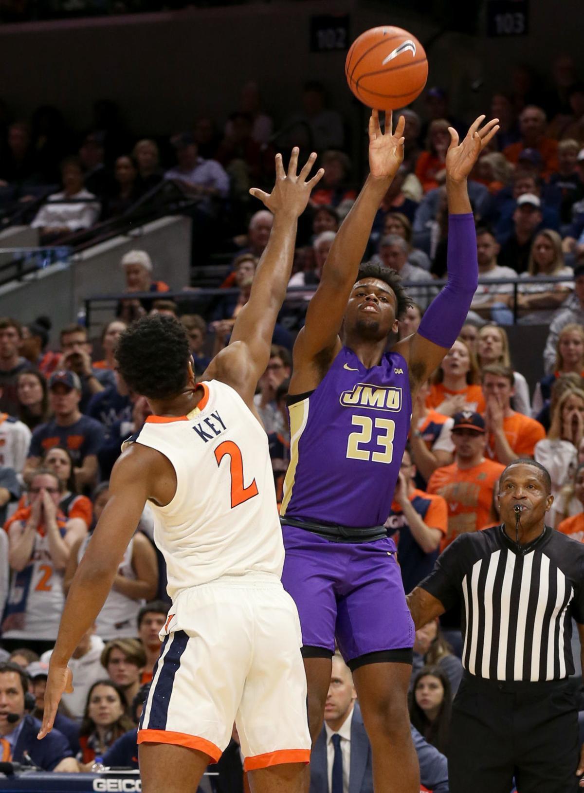 James Madison at UVA men's basketball
