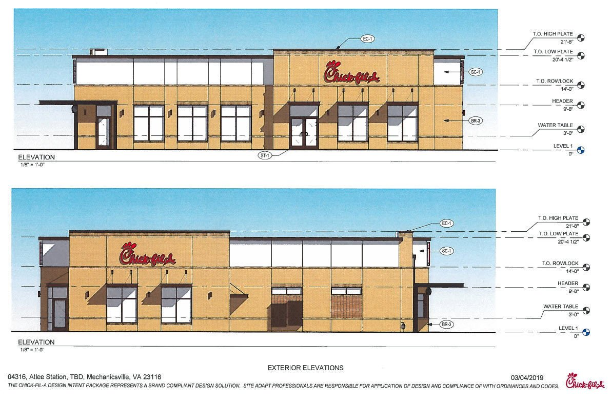 Chick Fil A Planning Atlee Station Location In Hanover County Restaurant News Richmond Com