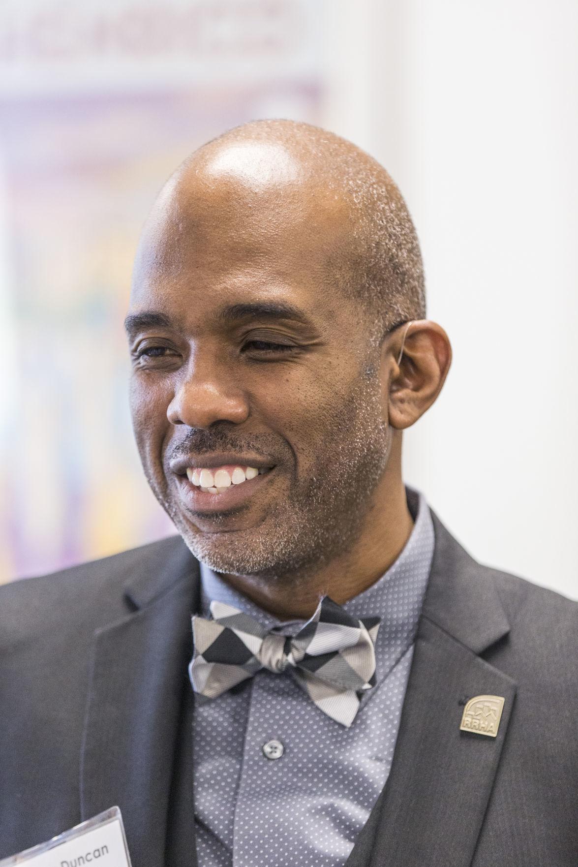Damon Duncan, the new executive director of RRHA